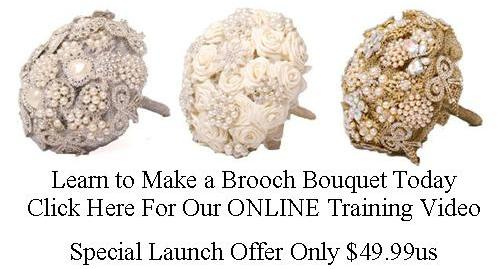 How to Make  a Brooch Bouquet online