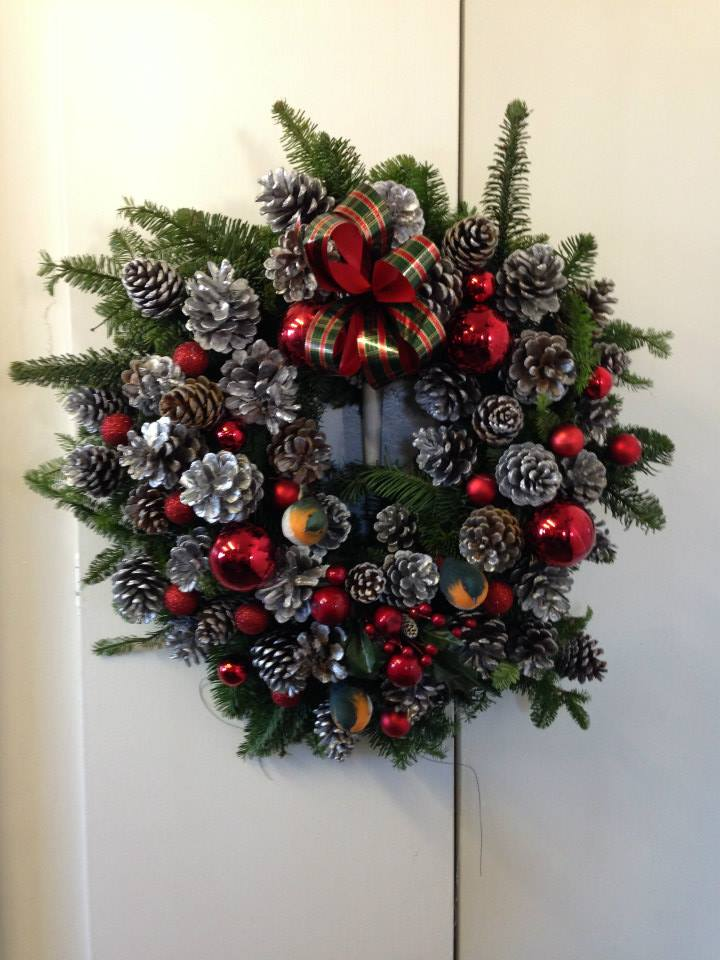 winter wreath for Christmas