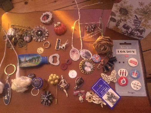 Selection of Memory Brooches
